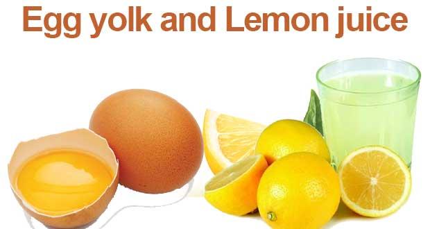 Egg-yolk-and-lemon-juice