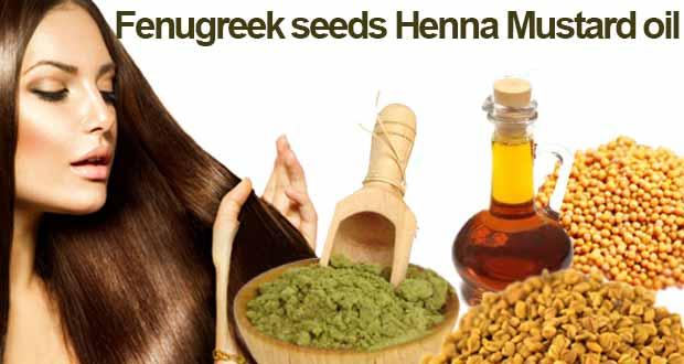 Fenugreek-seeds-Henna-Mustard-oil
